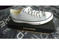NEW CONVERSE SHOES - IN BOX - UNWANTED GIFT.