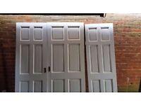 Internal Timber doors 4x