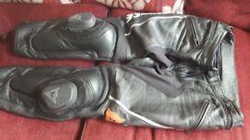 Dainese leathers (36/38 waist)