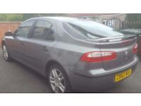 2003 RENAULT LAGUNA 1.8 EXTREME LONG MOT PART EXCHANGE WELCOME MONDEO VECTRA