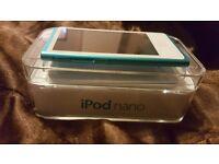 Blue ipod nano 7th gen 16gb good condition