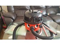 HENRY NUMATIC HOOVER CLEAN CONDITION 1200 WATTS WITH TOOLS