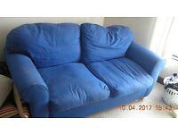 Metal action bed settee