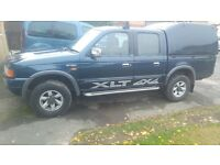 ford xlt double cab with box