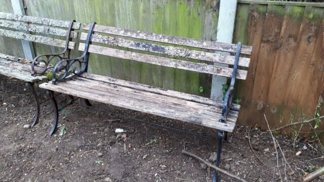 Wooden And Cast Iron Benches Used In Stalham Norfolk Gumtree