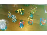 Various Lego Dimensions characters/vehicles