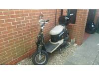 Direct Bikes Retro 50cc scooter Spares or Repairs