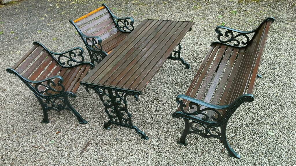 Cast Iron Garden Furniture Set In Keswick Cumbria Gumtree
