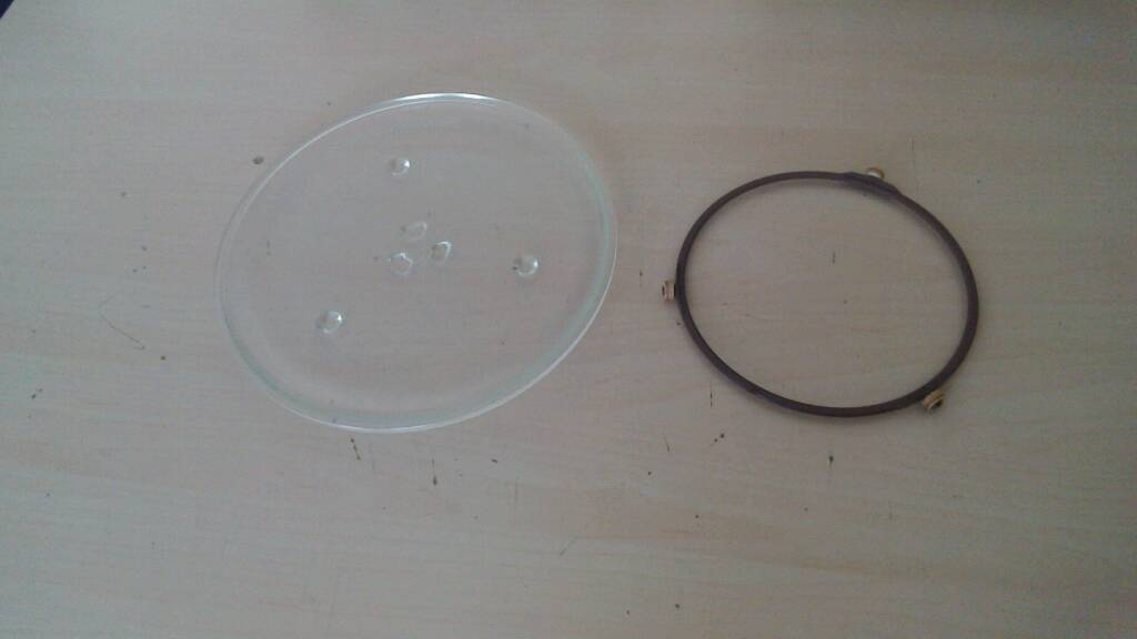 Microwave Turntable and Ring