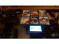 PlayStation Vita - 6 Games - 2 Cases - Hand Grip