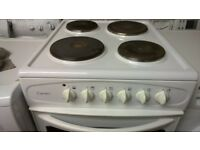 Belling 4 ring Electric Cooker for sale 50cm wide