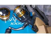 Best deal on site. Shimano rod.shimano reel rapala lures salmo and meps brand new double sided box.