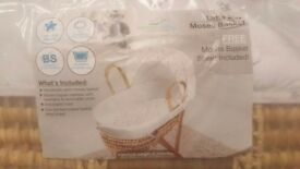 Moses basket brand new