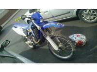 Yamaha Wr 400 road legal with mot