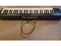 M Audio 61 MK2 Keyboard