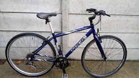 Men's or Women's TREK Hybrid/Road Bike Aluminium Frame + Helmet and Lock