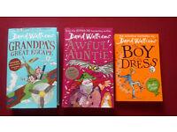 David Walliams - 3 books