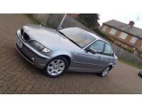 2004 (04) BMW 3 SERIES E46 318i SE 2.0L PETROL MANUAL SALOON MOT JULY 17 HPI CLEAR 2 KEYS 2 OWNERS