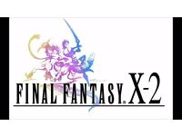 Final fantasy X2 - PS2 game