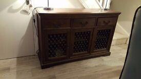 Solid wood Dresser unit