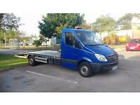 Left hand drive Sprinter 2008 recovery truck Auto laweta swap