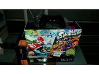 Wii u 32 gb model boxed 125games