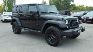 2016 Jeep WRANGLER UNLIMITED WILLYS  4 DOOR- 6 SPEED MANUAL - BR