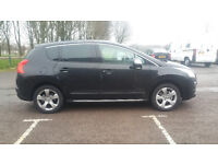 reduced price peugeot 3008 1.6 thp petrol only 3200 pounds, quick sale