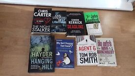 SELECTION OF 8 BOOKS VARIOUS AUTHORS....EXCELLENT CONDITION