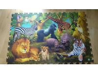 Floor Foam Puzzle With Animals