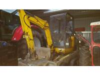 Man with small digger/ tractor & loader to Hire