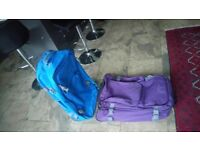 travel light suit cases 2 light luggage 2 suitcases going cheap grab a bargain good as new