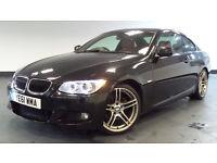 2011 61 BMW 3 SERIES 2.0 320D M SPORT 2D AUTO DIESEL *PART EX WELCOME*FINANCE AVAILABLE*WARRANTY*