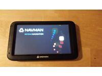 """NavMan EZY Wide+ Sat Nav 5"""" display - Excellent Condition"""