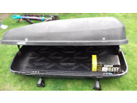 Roof bars and roof box Citroen Picasso / Berlingo