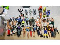 Large Action Man collection. 26 figures plus accessories.