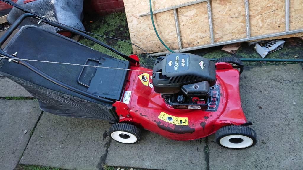 Champion 20 Push Petrol Lawnmower With Gr Box In Dunfermline Fife Gumtree