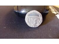 20 Pence Mule Coin Undated both sides