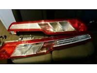 Genuine Ford transit MK8 custom rear lights