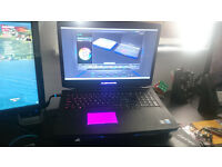 Alienware 17 gaming laptop in perfect condition