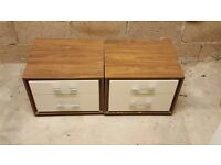 Two bedside tables from next