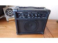 small black amplifier
