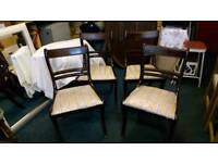 Dinning chairs set of four matching