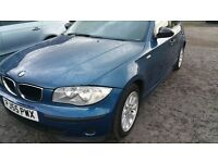 IMMACULATE BMW 118 D,6 SPEED,55 PLATE,5 DOOR,ENGINE AND GEARBOX 100%,CHEAPEST ONLINE!!!!