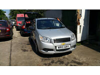 FOR SALE CAT D REPAIRED CHEVROLET AVEO WITH NEW MOT AND FULL SERVICE