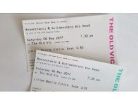 ROSENCRANTZ & GUILDENSTERN ARE DEAD starring Daniel Radcliffe: 2 tickets for last performance 6 May