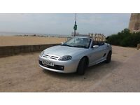 2004 Mgtf 160bhp sunstorm convertible with hardtop ready to go mgf