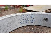 Concrete Chamber Manhole Ring 1200 mm x 250 mm with steps.
