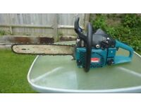 Makita large petrol chainsaw