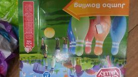 Giant skittle set